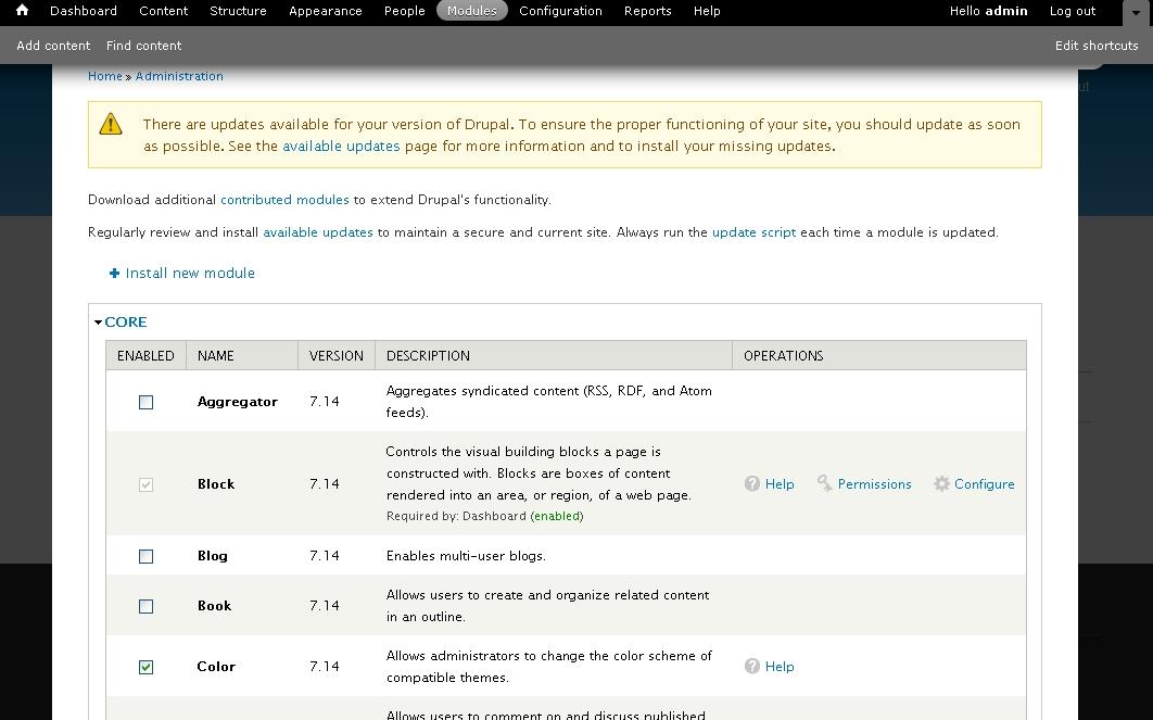 Langage de programmation - PHP - Drupal - Introduction