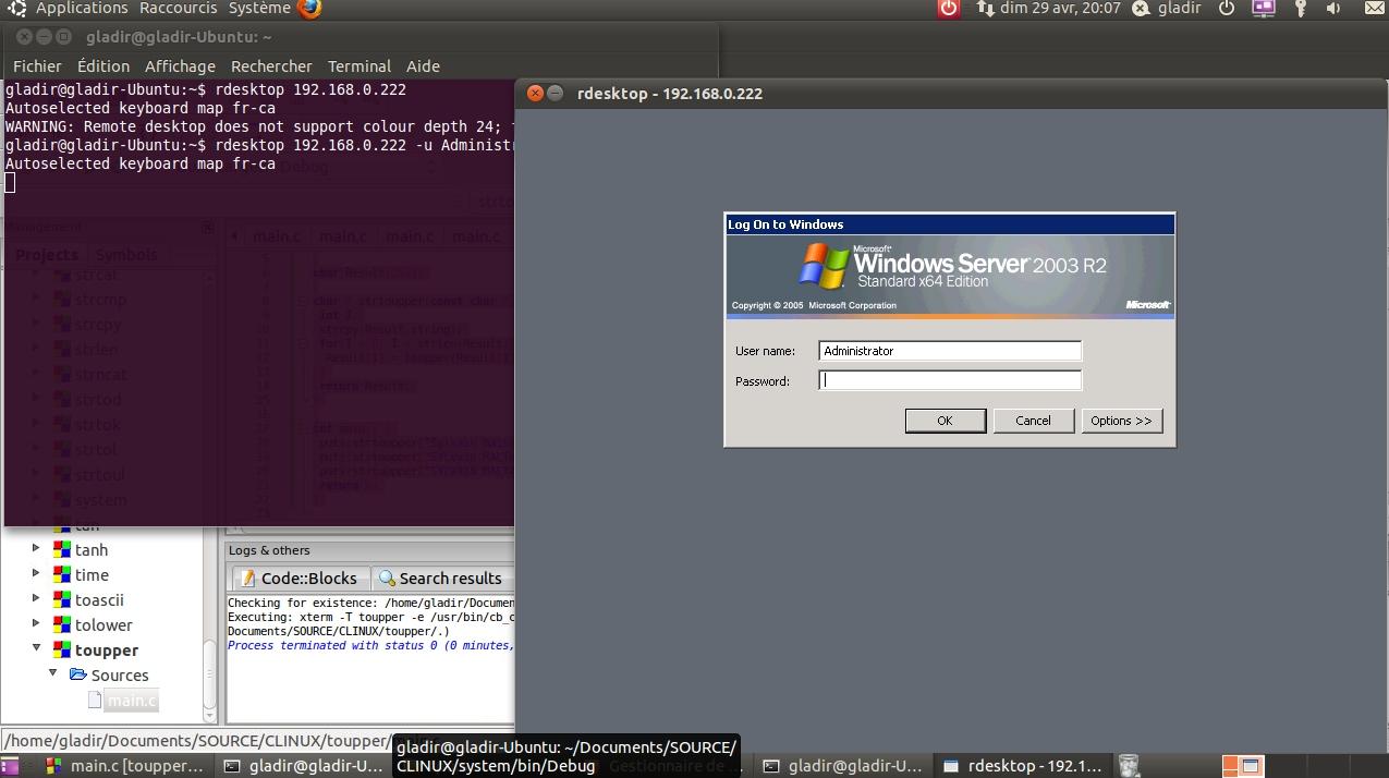 Système d'exploitation - Linux - Références de commandes et de